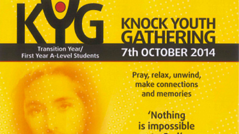 Knock Youth Gathering for Transition Year & AS Level Students