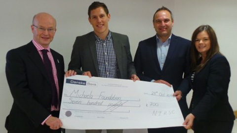 NIRSC select Michaela Foundation as Charity Beneficiary at Annual Conference