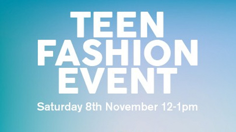 Free Teen Fashion Event in Buttercrane