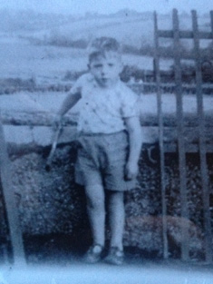 Brendan McAreavey childhood photo