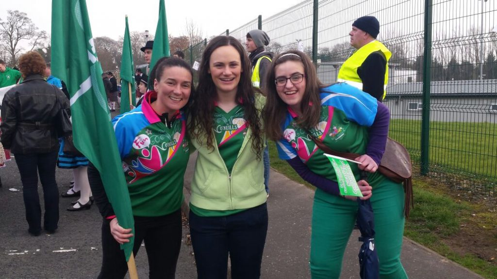 Omagh Campettes and Leaders join in St. Patrick's Day Celebrations