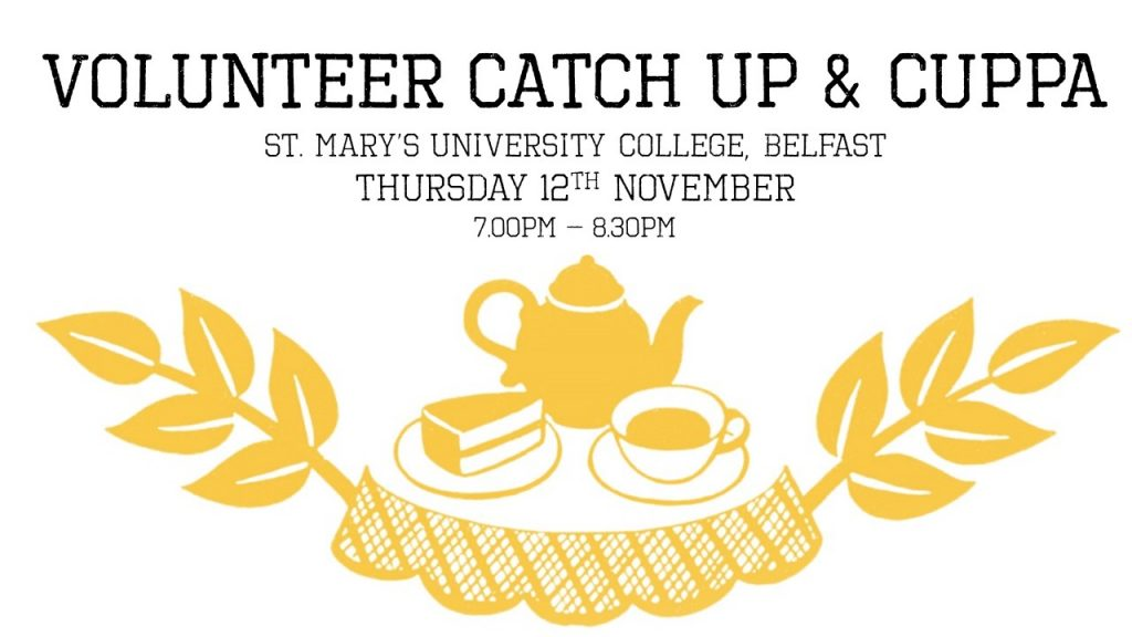Volunteer Catch Up & Cuppa