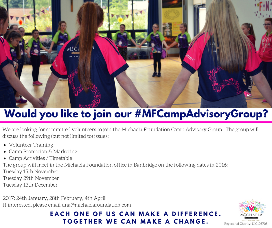 Would you like to join our Camp Advisory Group?