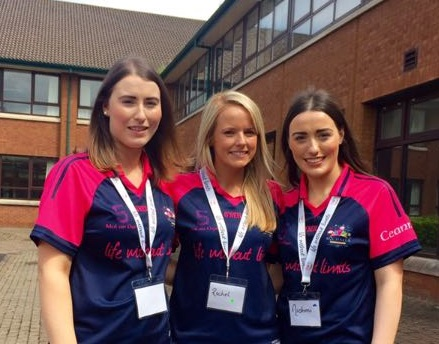 Niamh Murray, Rachel O'Hare & Niohmi Murray