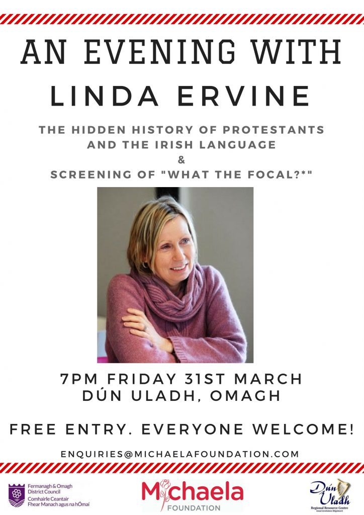 The hidden history of Protestants and the Irish Language 31st March 2017