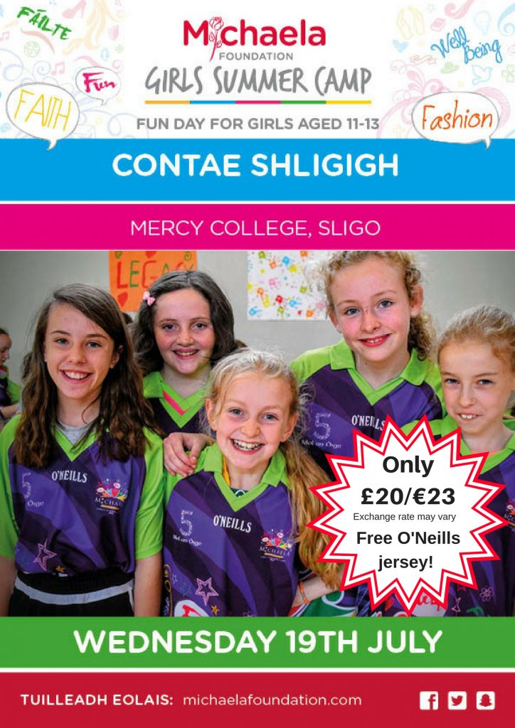 Register for Sligo Summer Camp Fun Day