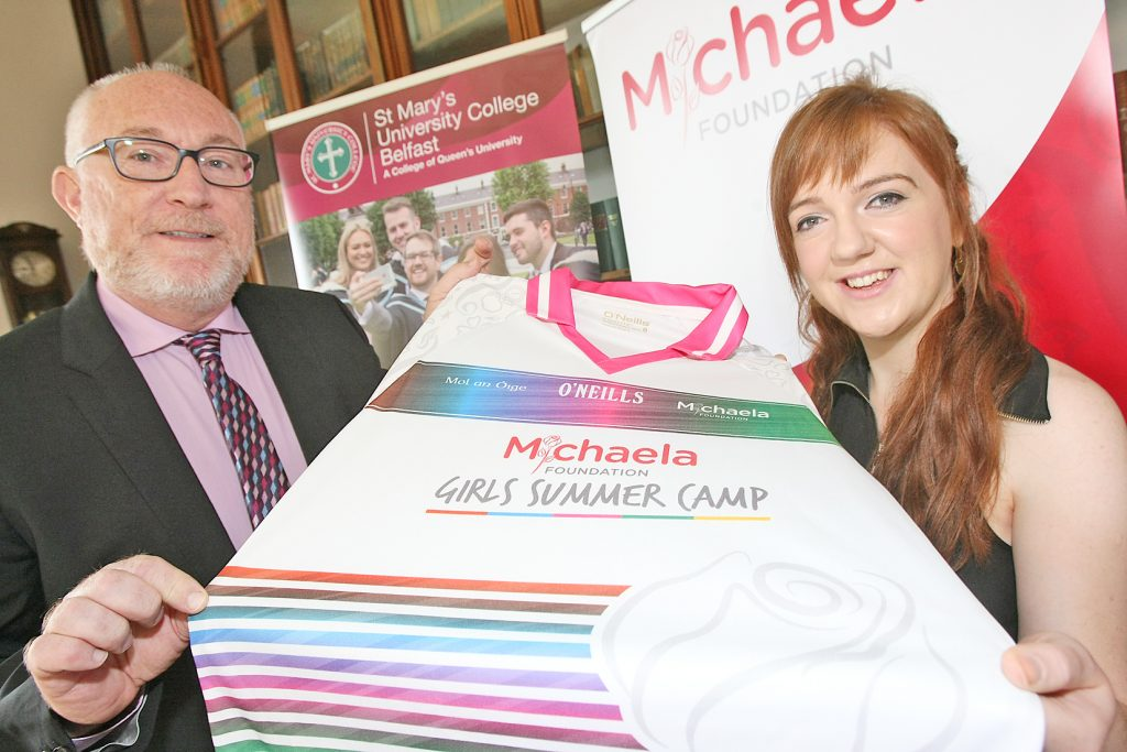 Michaela Foundation's four year partnership with St. Mary's University College continues to flourish.