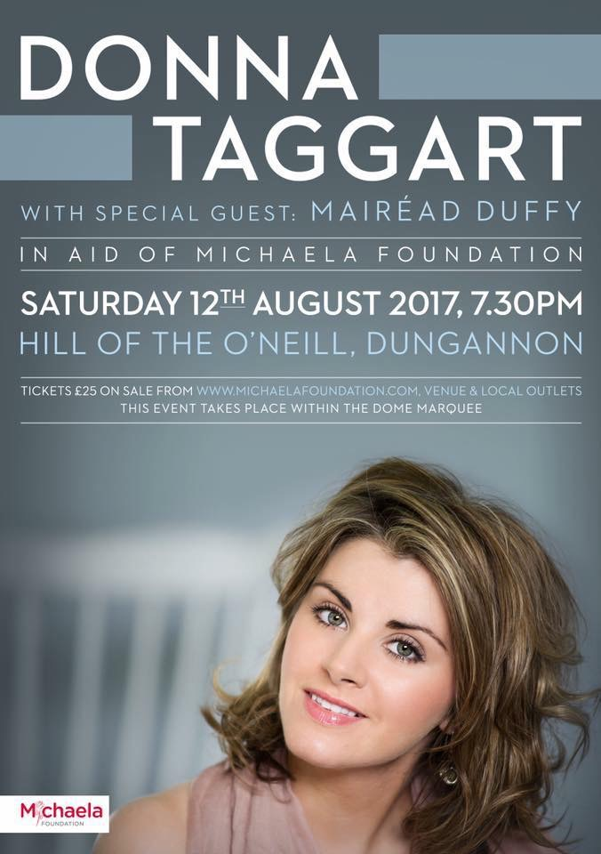 Donna Taggart concert: May pay at door. Tickets available.