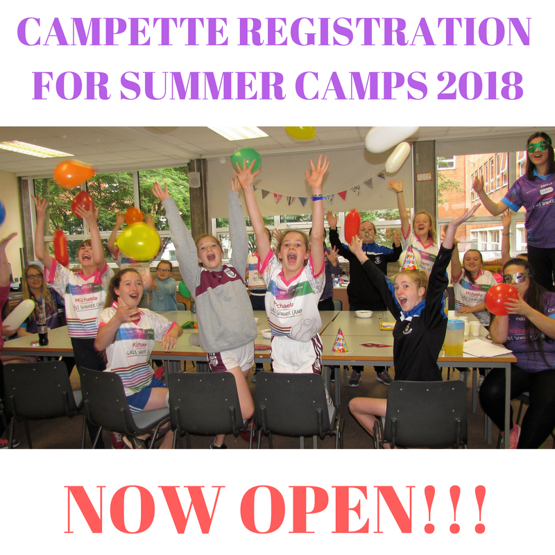 Girls' Summer Camp Registration Now Open!